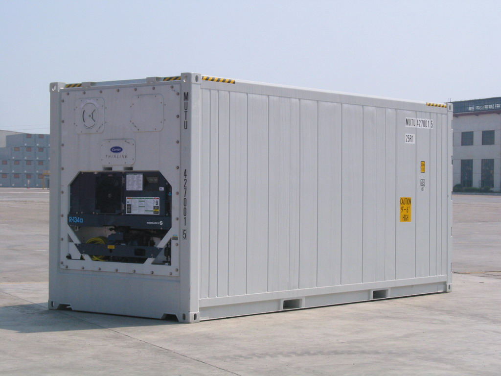 Reefer Containers - REEFER CONTAINERS TRANSPORTATION - 1&1